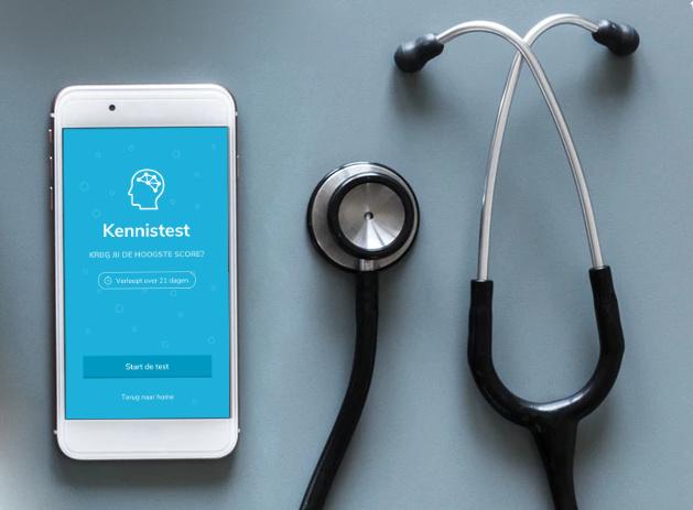 Afbeelding voor Kennis van ziekenhuispersoneel verhogen met een mobiele app