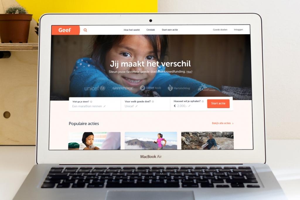 Afbeelding voor Heruitvinden van Geef.nl