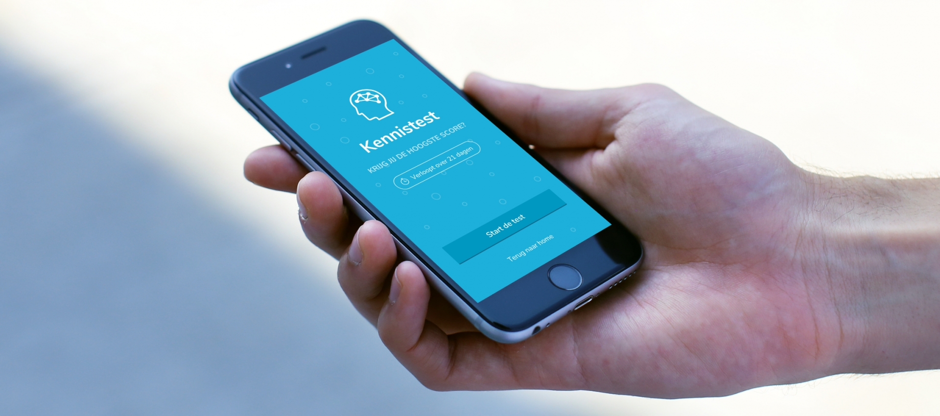 header kennistest app radboudumc