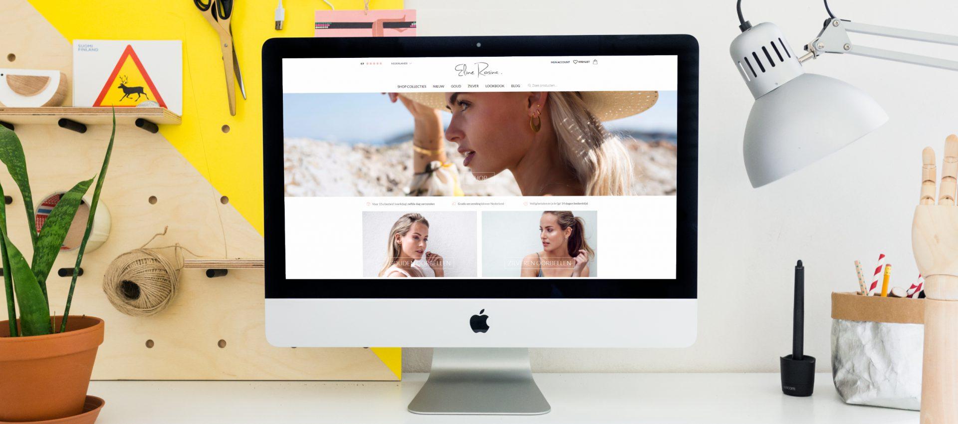 webshop laten maken eline rosina voorbeeld