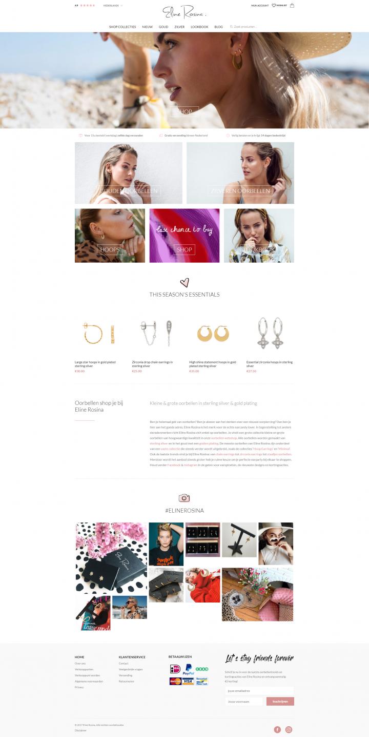 Preview van Hoe we de omzet van webshop Eline Rosina verhoogden