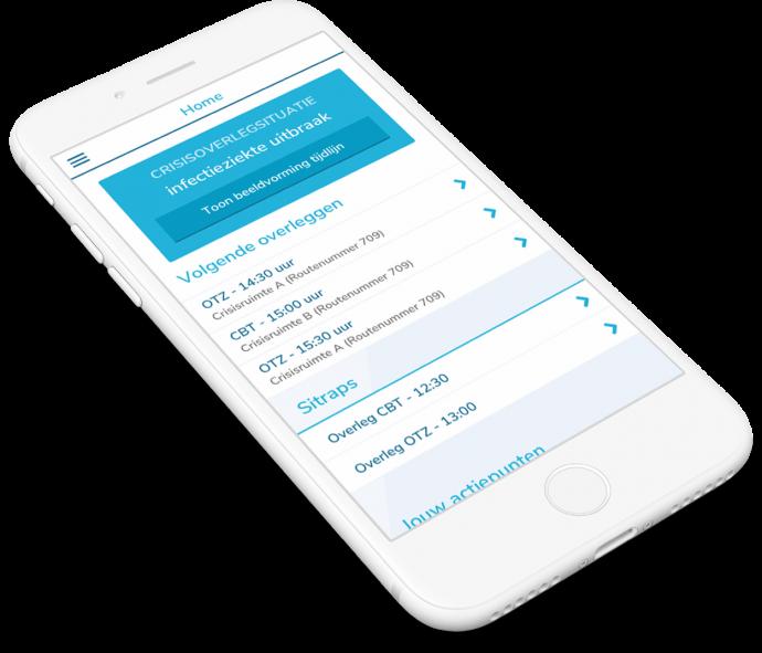 Afbeelding voor Kennis van Radboudumc-personeel verhogen met mobiele app CrisisNet