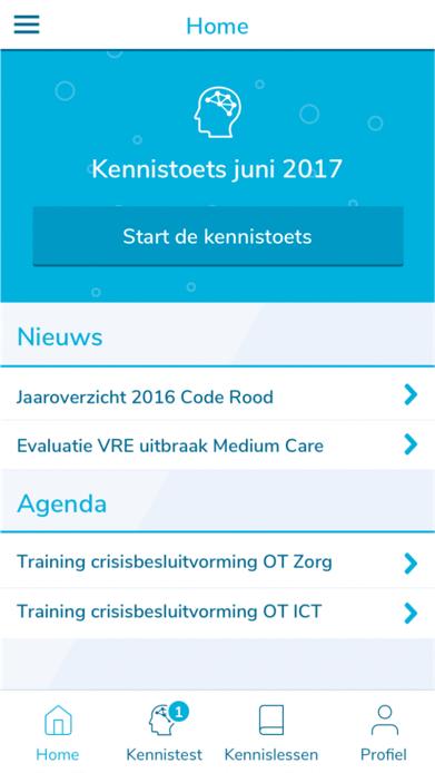 Preview van Kennis van Radboudumc-personeel verhogen met een mobiele app