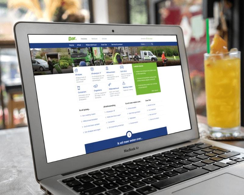 Afbeelding voor Dar.nl – Een website die zich aanpast aan de bezoeker