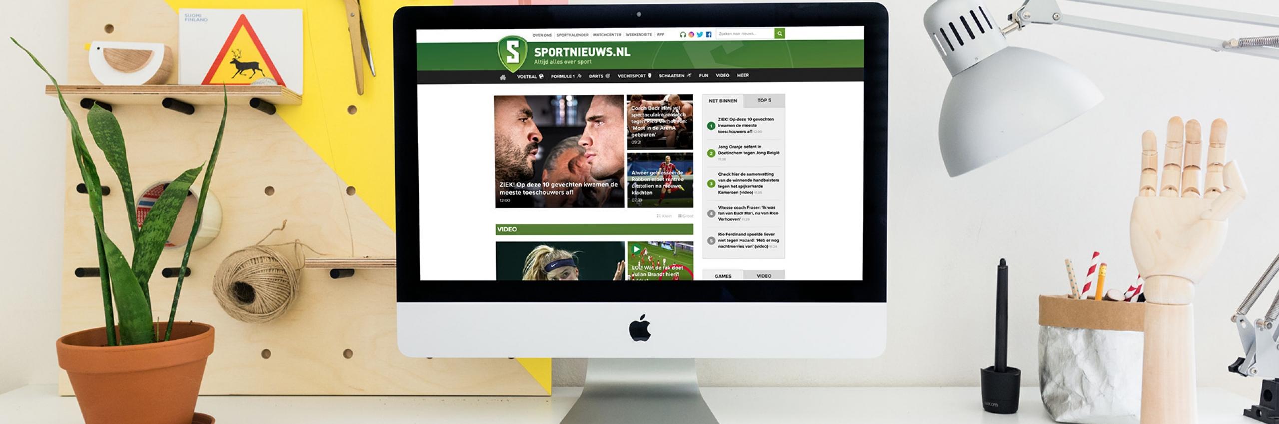 Banner for Een hogere conversie met een mobile-first website voor Sportnieuws
