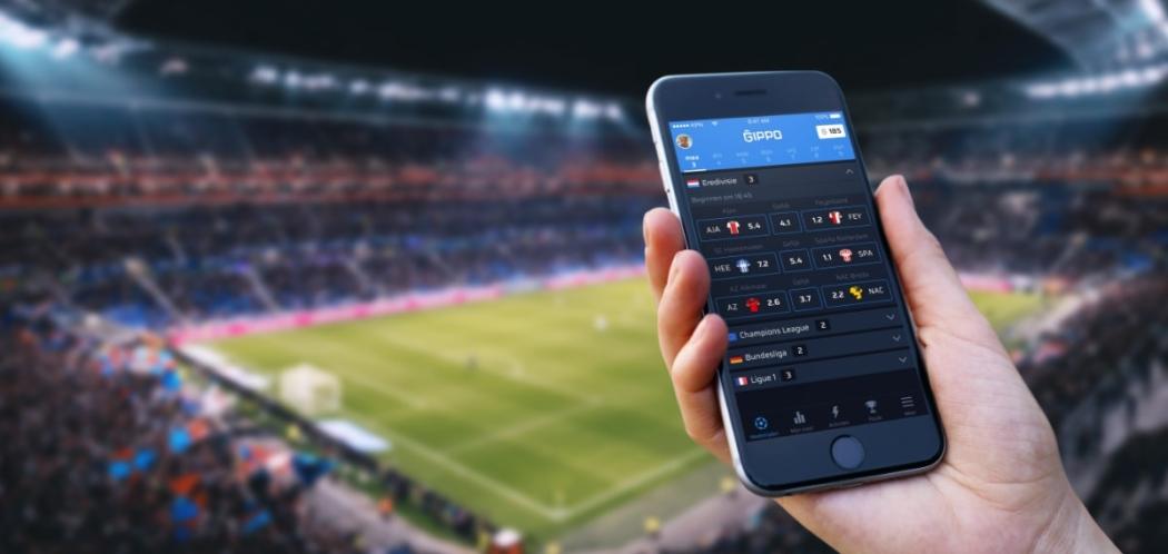 Afbeelding voor Speel nu GIPPO: onze nieuwe voetbal app