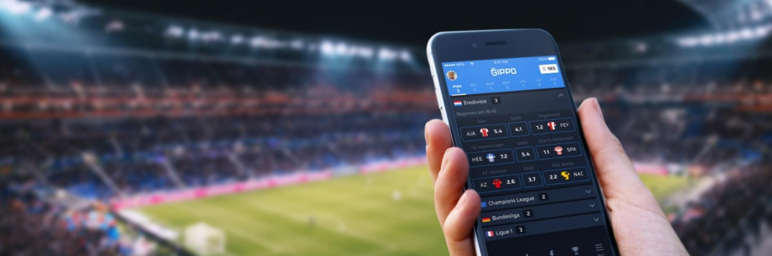 Banner for Speel nu GIPPO: onze nieuwe voetbal app