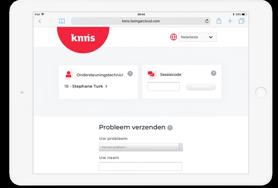 Preview van Leadgeneratie op de nieuwe website van IT-specialist KNNS