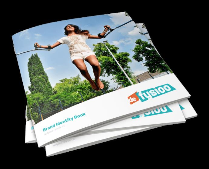 Afbeelding voor Een Brand Guide en een website voor de fysioo