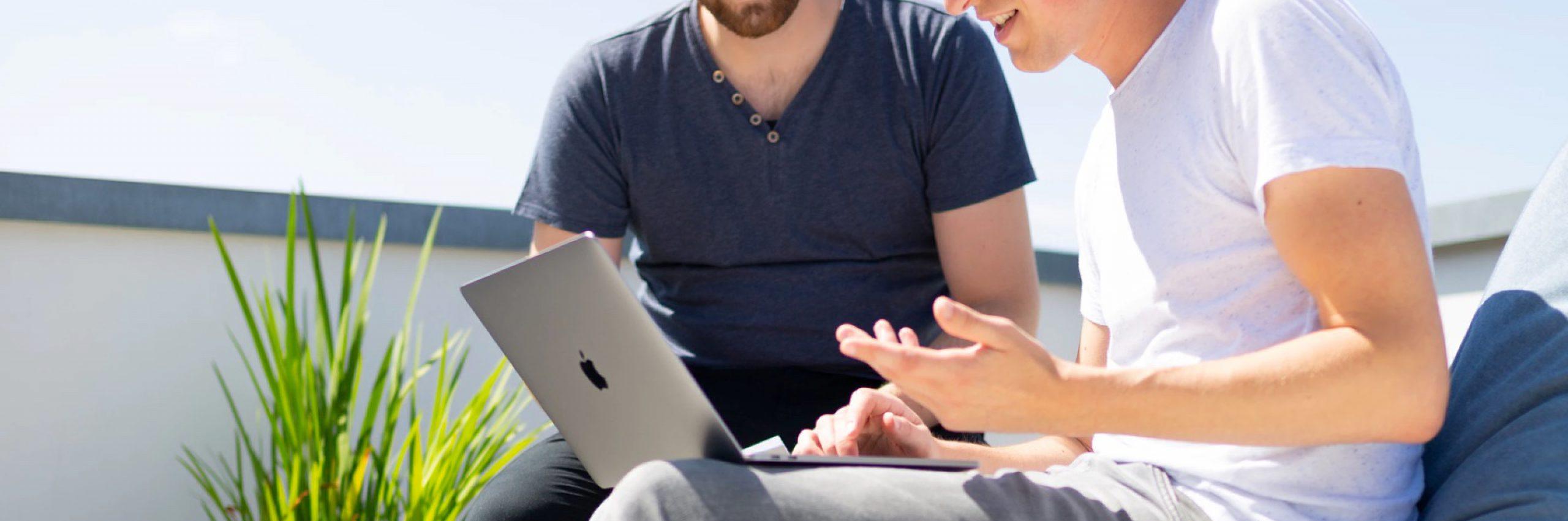 Banner for Leadgeneratie op de nieuwe website van IT-specialist KNNS