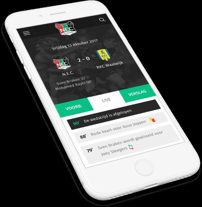 Preview van Een User-Centered en mobile-first N.E.C.