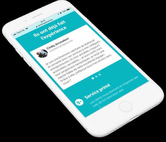 Afbeelding voor Hogere conversie voor verzendservice MyParcel