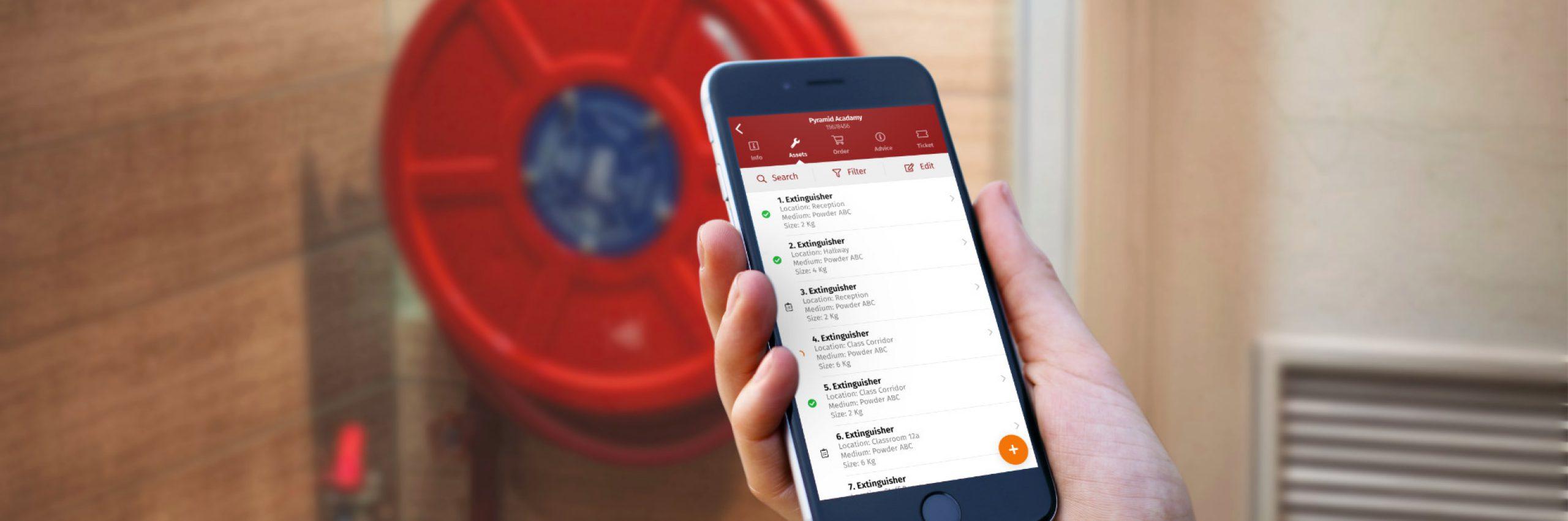 Banner for Inspecties brandveiligheid beter én veiliger met een kostenbesparende app