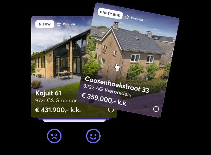 Afbeelding voor Match met je perfecte woning via de Settle-app
