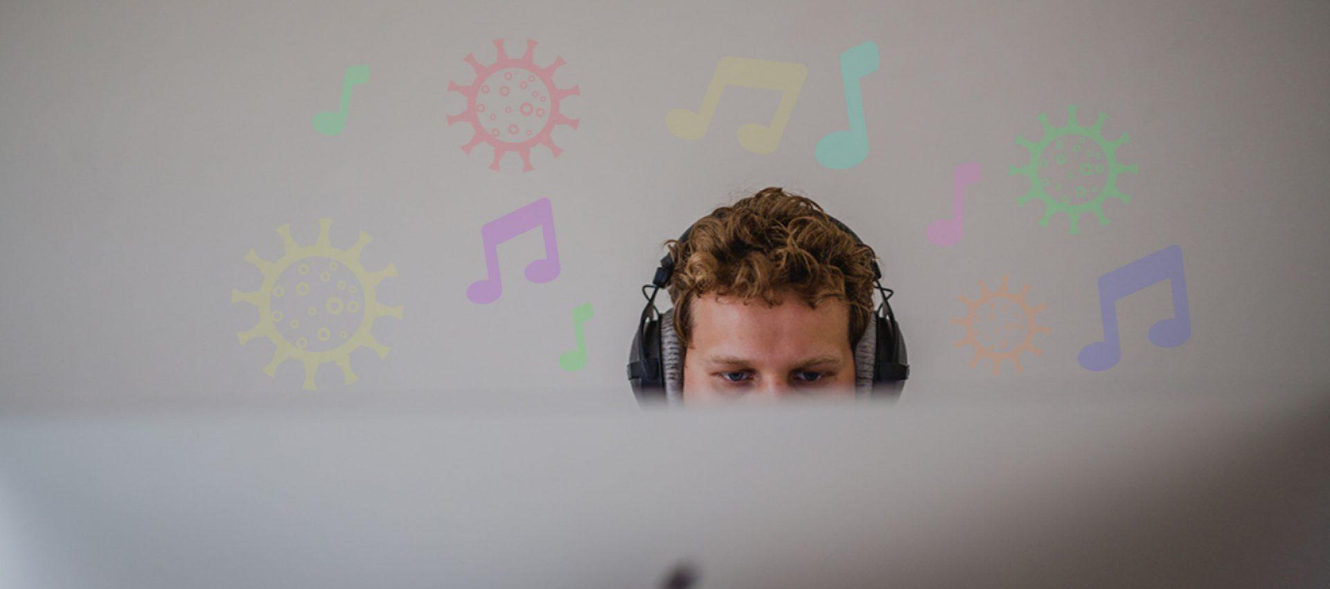 Afbeelding voor Quarantuning: muziek voor tijdens het thuiswerken