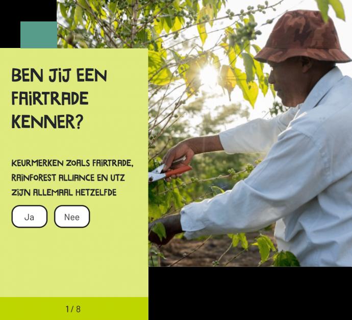 Afbeelding voor De link leggen tussen boer en consument op Fairtradenederland.nl