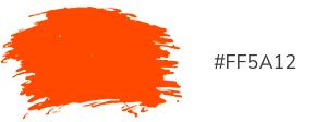 Blog kleuren oranje