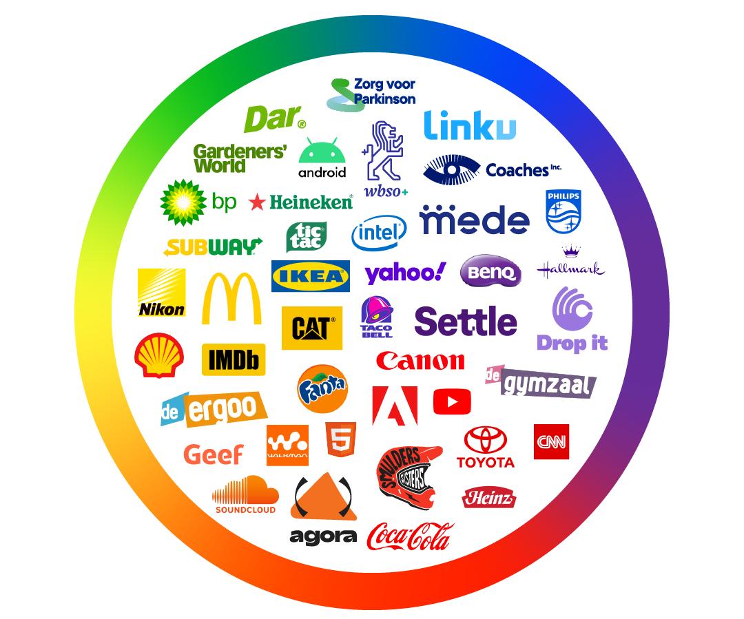 Kleurenpsycholigie - Een overzicht van merken en kleuren