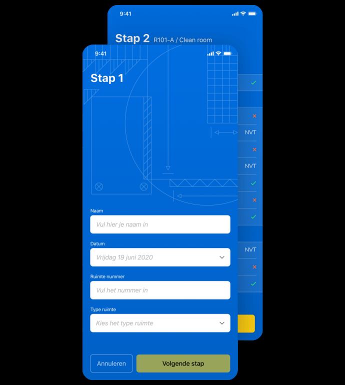 Afbeelding voor Workflows digitaliseren met een inspectie-app voor HBC