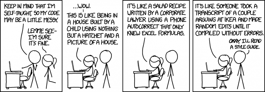 Code illustratie