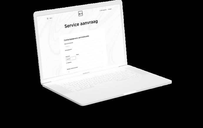 Service aanvragen voor JEE-O producten