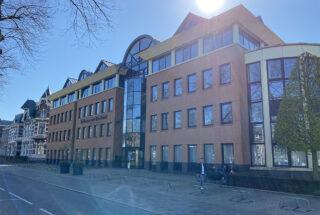 Nieuwe pand aan Sint Canisiussingel, NIjmegen